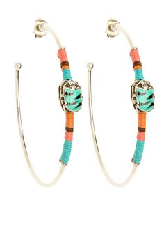 Scaramouche Hoop Earrings | Calypso St. Barth