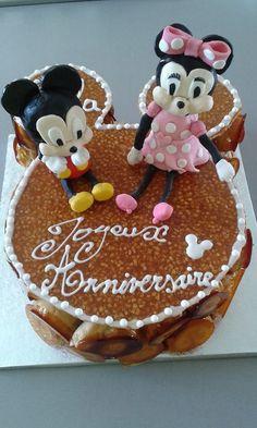 Pièce montée Mickey & Minnie