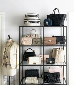 New Diy Shelves Bedroom Clothes Apartment Therapy Ideas Shoe Storage Shelf, Handbag Storage, Closet Storage, Bedroom Storage, Storage Ideas, Jewelry Storage, Closet Shelving, Diy Bedroom, Diy Storage