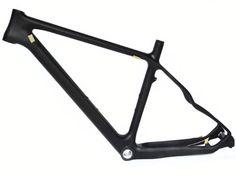 Mountain Bike Frames - Full Carbon 3K Matt Matte 26er Mountain Bike MTB 26 Wheel BSA Frame 17 >>> Check out the image by visiting the link.