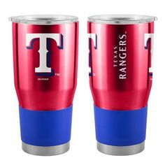 Boelter Brands Texas Rangers Ultra 30 oz. Tumbler (Red, Size 30 Oz) - Pro Licensed Product, Pro Licensed Novelty at Academy Sports