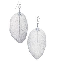 mark Lovin' and Leafin' Earrings -- made with real leaves