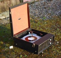 Retro, Vintage Record Player