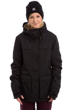 Colour Wear Ida Snowboard Jas women (black)