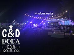 Boda C&D #wedding #decorations #roshyflores.eventos