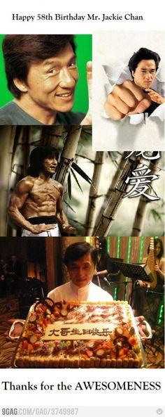 Happy Birthday Mr. Jackie Chan