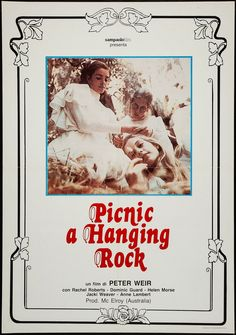 Picnic at Hanging Rock – Peter Weir) Best Movies To See, Good Movies To Watch, Cinema Posters, Film Posters, Dramas, Rachel Roberts, Peter Weir, Picnic At Hanging Rock, Movie Posters
