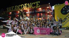El grupo #fucsiaF17 se suma a la banda de #e15 en #disney. Bienvenidas!