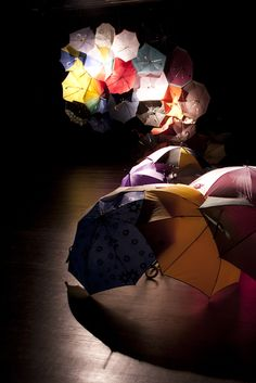 Rainmaker / Blog - Parapluie Collective, Communal Umbrella Kasia...