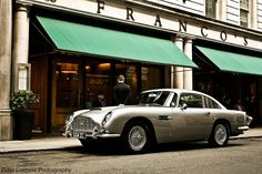 Aston Martin DB5 in London near Waterloo place. The one and only and my holy grail!!!