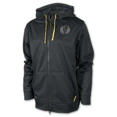 MEN'S LARGE NIKE LIVESTRONG SPHERE KO HOODIE CANCER SUPPORT THERMA-FIT $90 GRAY #Nike #ShirtsTops