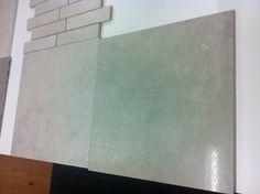 Large Format tiles - neutral colour looks like concrete