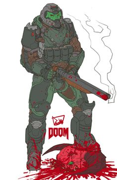 My Version Doom slayer by obokhan