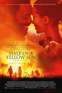 Half of a Yellow Sun, starring Chiwetel Ejiofor and Thandie Newton - based on Chimamanda Ngozi Adichie's novel