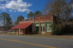 Nunez GA Emanuel County Early 20th Century Commercial Architecture Storefronts Photograph Copyright Brian Brown Vanishing South Georgia USA ...