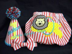 BOYS 1ST BIRTHDAY Circus Outfit Cake Smash by LittleGoodieTutus, $60.00