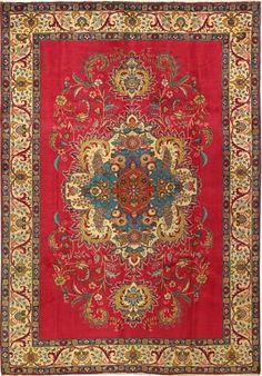 Our living room rug, from Paul the Persian rug guy! A NYC treasure.
