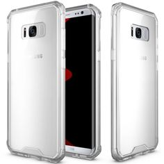 Samsung Galaxy S8 Ultra Clear Case Acrylic PC Cover Shock Proof 5.8 Inch New #UltraCase