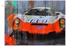 automotive paintings from artist Markus Haub Le Mans, Blueprint Art, Classic Race Cars, Automobile, Mobile Art, Aerial Arts, Car Illustration, Car Posters, Car Drawings