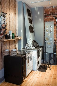 Stove room / Tulisija-huone Home Renovation, Store, House, Ideas, Home, Larger, Thoughts, Homes, Shop