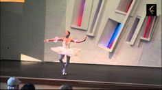 "Maria Bulanova, 13 years. Variation from ""Le Corsaire"""