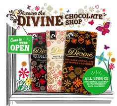 Divine Chocolate | Owned by cocoa farmers. Made for chocolate lovers.