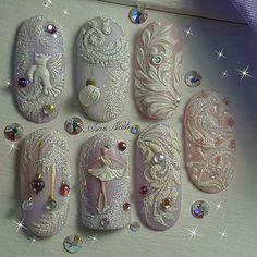 Nail design here! Nail Art Designs, Winter Nail Designs, Winter Nail Art, Christmas Nail Designs, Christmas Nail Art, Winter Nails, Xmas Nails, Holiday Nails, Cute Nails