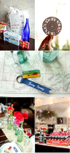 road trip theme wedding. would be perfect for my boyfriend and i!