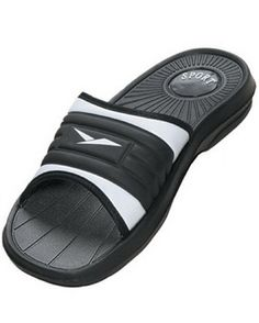 Men's Rubber Slide Sandal Slipper Comfortable Shower Beach Shoe Slip On, Black 12 $9.50