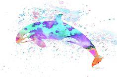 Whale Digital Art - 10956 Killer Whale by Pamela Williams