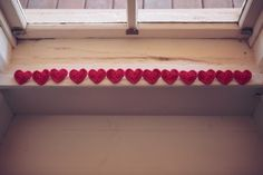 the details in this heart themed wedding are fantastic | via Boho Weddings