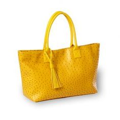 Hannah Tote in Yellow