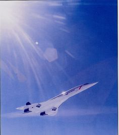 British Airways Aérospatiale-BAC Concorde 102 in flight. (Photo: Clay Lacey for British Airways) Concorde, Concord Airplane, Bomber Plane, Airplane Fighter, Interesting Facts About World, Passenger Aircraft, Air Space, Commercial Aircraft, British Airways