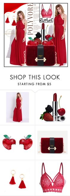 """""""ROMWE#4"""" by sabahetasaric ❤ liked on Polyvore featuring Clinique and Theo Fennell"""