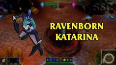 Ravenborn Katarina LoL Custom Skin ShowCase