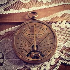 Hey, I found this really awesome Etsy listing at http://www.etsy.com/listing/106420905/1-vintage-style-nautical-sundial-pocket