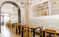 Bis Panzerotti Milano, restaurant by Nomade architettura www.nomadearchitettura.com