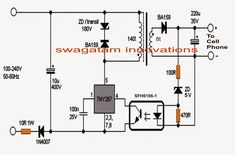 This 6V and 12V car battery charger circuit can be