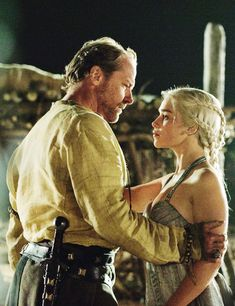Jorah and Daenerys -- God, ALL I WANT is for her to let him out of the damned friendzone. IS THAT SO HARD???