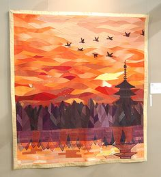 christineluc:    SOOOO awesome. I want to quilt like this! (I also want to quilt.)  Link has more awesome pictures of the Tokyo Quilt Festival.