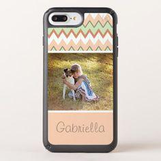 Custom Retro Chic Geometric Chevron Zigzag Pattern Speck iPhone Case - elegant gifts gift ideas custom presents