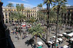 Plaça Reial - Barcelone