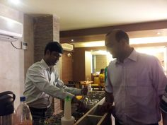 Dr. Amit celebrated his birthday with his family and friends at The Yellow Chilli Restaurant, Lucknow.
