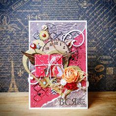 Steampunk Valentine card