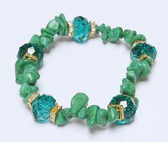 PandaHall Jewelry—Glass Bracelets with Gemstone Beads | PandaHall Beads Jewelry Blog
