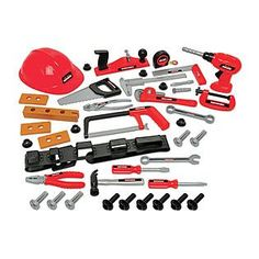 My First Craftsman 44pcs Tool Set with Helmet >>> You can find out more details at the link of the image.