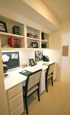Trendy Home Office Nook Ideas Homework Station Cozy Home Office, Office Nook, Home Office Space, Study Office, Home Office Design, Home Office Decor, Home Decor, Office Ideas, Office Designs
