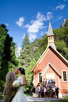 Yosemite Wedding Chapel Ahwahnee Hotel Addyrosedesign Patrickpike