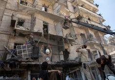 Al menos 19 muertos y 120 heridos en Alepo por bombardeos de rebeldes sirios