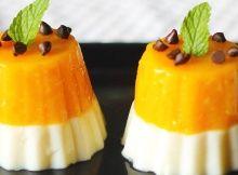 Eat like an Italian Prince with this Mango Panna Cotta